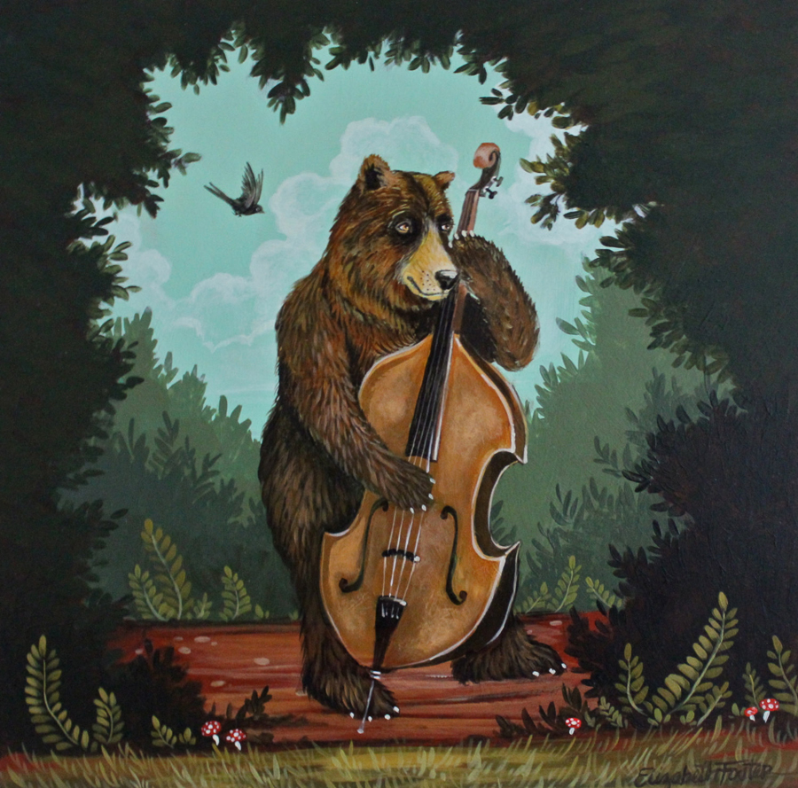 """The Bear and The Bass"" by Elizabeth Foster"